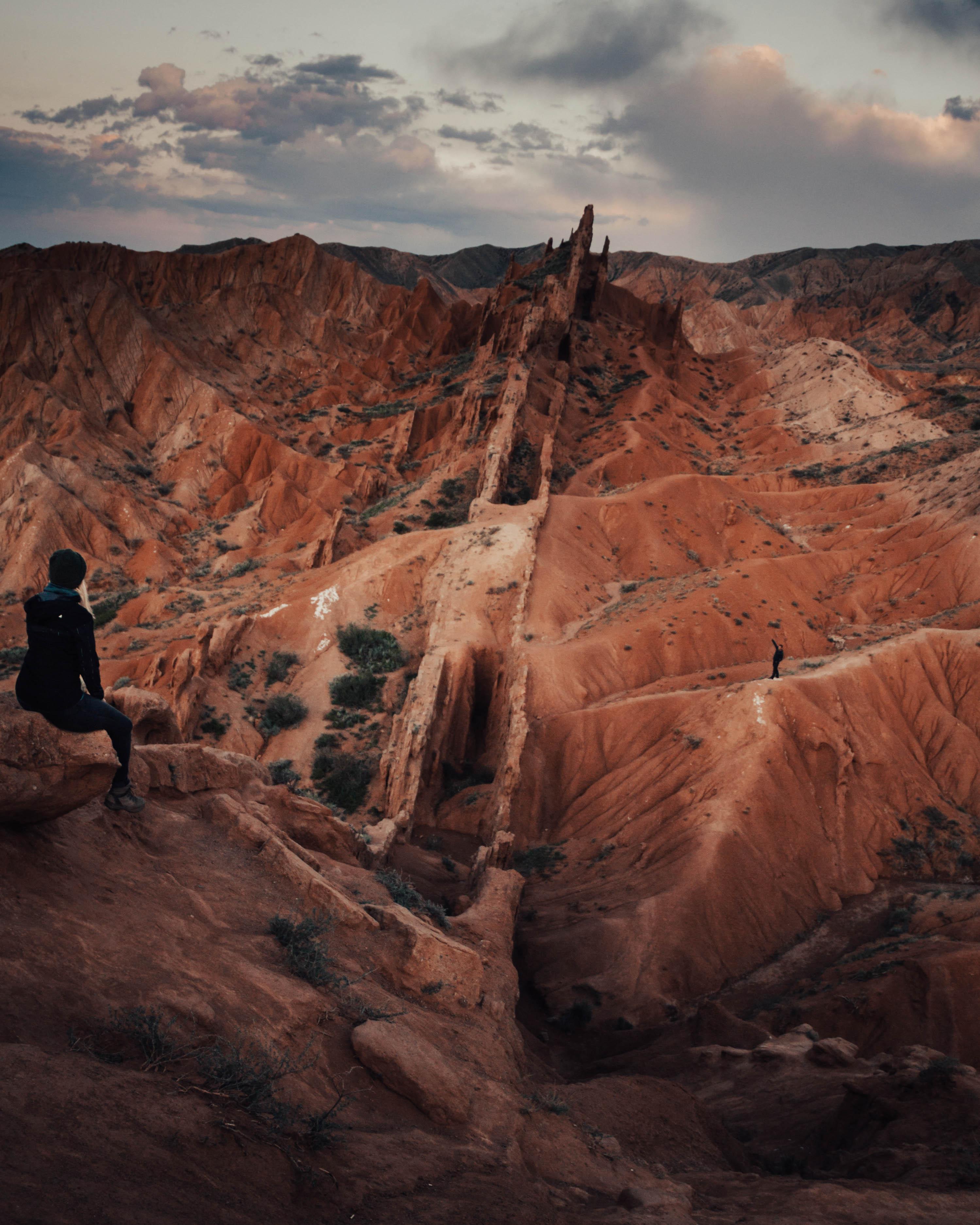 Fairytale Canyon: een magische plek verborgen tussen de bergen van Kirgizië.