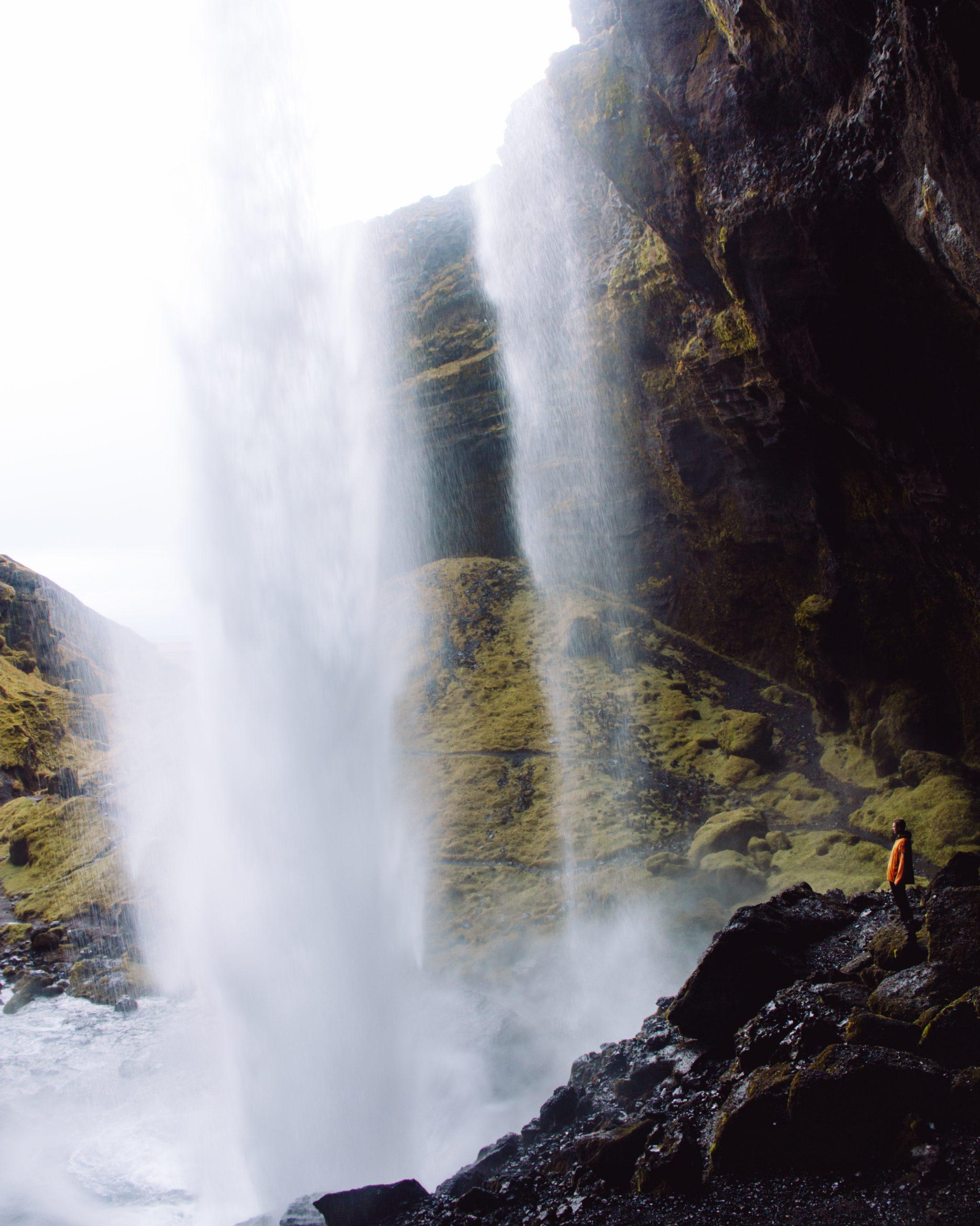 Kvernufoss: een 'geheime' waterval in IJsland.